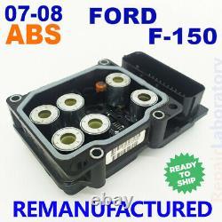 Rébuilt 07-08 Ford F-150 Lincoln Module De Contrôle De Pompe Abs 0 265 800 755