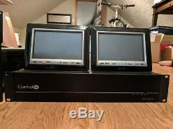 Système Control4 Smart Home, Amplificateur 8 Zones, Hc1000, Thermostats, Écran Tactile