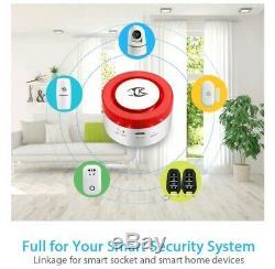 Système D'alarme Wifi Pour Smart Home Accueil Google Et Compatible Alexa, App Contrôlée