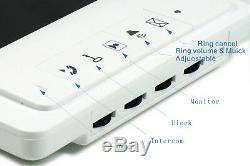 Système D'interphone Visuel D'entrée De Téléphone D'interphone D'appartement De L'unité Vidéo 5 D'interphone 5v