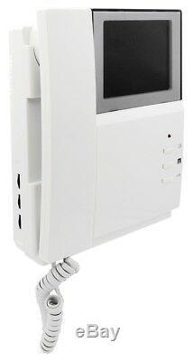 Système D'interphone Visuel Visuel D'interphone Visuel De Téléphone De Porte D'appartement 4 Unités