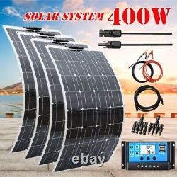 Système De Chargeur De Module De Panneaux Solaires 400w Avec Contrôleur Pwm 30a Pour Rv Campingcar