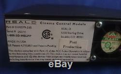 Système De Cinéma Reald 3d De Module De Commande De Cinéma Et Zscreen Polarisé Par Cinéma Nouveau