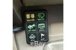 Système De Commutateur S-tech Avec Centre De Relais Pour Universal / Truck / Suv / Car / Utv