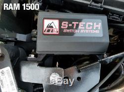 Système De Commutation S-tech 6 Avec Centre De Relais Rouge Double Del Pour Camion De Ram 2013-2018
