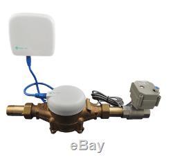 Système De Détection De Fuites D'eau À La Maison De Moniteur D'alarme De Moniteur Arrêt Automatique Wifi 3/4