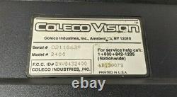 Système De Jeu Vidéo Coleco Vision Avec Module D'expansion, 46 Jeux, Contrôleurs, Câbles