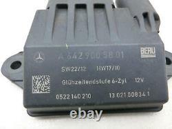 Système De Préchauffage Du Relais De Lueur De L'unité De Commande Pour Mercedes S211 W211 E280 06-09