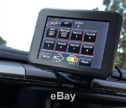 Système Spod 8 Circuit Se Avec Module À Écran Tactile Pour Jeep Wrangler Jk 2007-2017