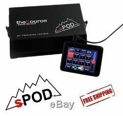Système Spod 8 Circuit Se Avec Module À Écran Tactile Pour Jeep Wrangler Jk 2007-2018