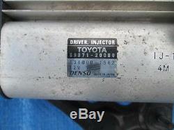 Toyota Rav4 2.2 Diesel Driver Injecteur Ecu 89871-20080 131000-1562