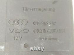 Unité Centrale De Contrôle De Verrouillage Audi Tt 8n Serrure De Porte 8n8962267 410.215/007/001