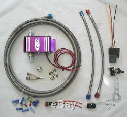 Universal Zex Humide Système Nitrous Kit Wot Contrôle Electrovanne Module 175hp Max