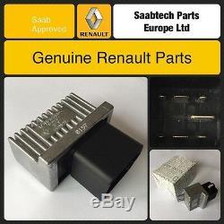 Véritable Renault Scenic / Laguna Et Plus Avant Chauffage Diesel Bougie De Préchauffage Relais 7700115078