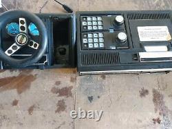 Vintage Colecovision Game System Model 2400 Avec Contrôleur + Module D'expansion 2