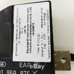 Vw T4 Steuergerät Elektr Fensterheber Inkl Grundkabelbaum Bis Bj 3/96 191959857