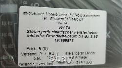 Vw T4 Steuergerät Elektr. Fensterheber Inkl. Grundkabelbaum En 191959875