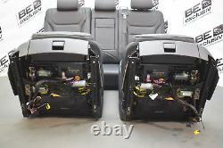 Vw Touareg 7p Facelift Lederausstattung Komfortsitze Sitze Schwarz Ledersitze