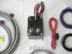 Zex Système Humide Kit Nitrous Efi Module De Contrôle, Buse, Jets, Lignes, Switch